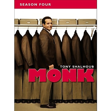 Monk: Season Four (DVD)