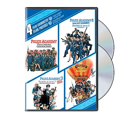 4 Film Favourites:Police Academy 1-4 (DVD)