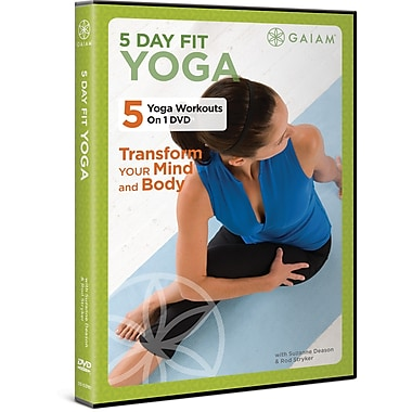 5 Day Fit: Yoga DVD with Suzanne Deason & Rod Stryker (GAIAM MEDIA) 2011