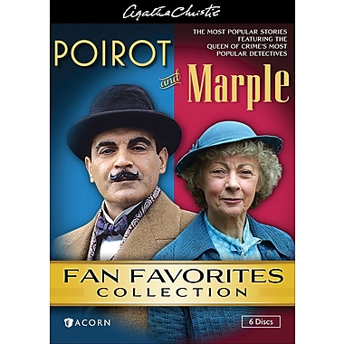 Agatha Christie's Poirot & Marple - Fan Favorites Collection (DVD)