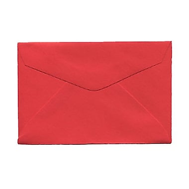 JAM Paper® 3drug Mini Small Envelopes, 2 5/16 x 3.63, Brite Hue Red Recycled, 1000/Pack (155031B)