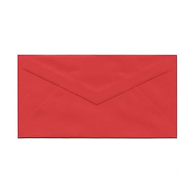 JAM Paper® Monarch Envelopes, 3.88 x 7.5, Brite Hue Red Recycled, 100/Pack (151014g)