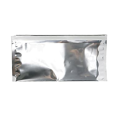 JAM Paper® #10 Foil Envelopes with Self Adhesive Closure, 4 1/8 x 9.5, Silver, 100/Pack (01323306B)