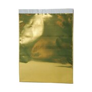 JAM Paper® 9 x 12 Open End Catalog Foil Envelopes w/Peal and Seal Closure, Gold, 100/Pack