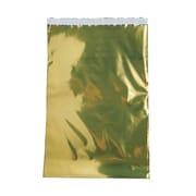 "Jam® 25/Pack 12"" x 18"" Open End Foil Envelopes w/Peal & Seal Closure"
