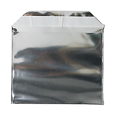 JAM Paper® Foil Envelopes with Self Adhesive Closure, 4 x 5.5, Silver, 100/Pack (01324892B)