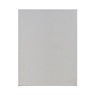 JAM Paper® 8 1/2in. x 11in. Smooth Passport Recycled Paper, Granite, 500 Sheets/Pack
