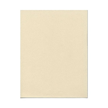 JAM Paper® 8 1/2in. x 11in. Smooth Passport Recycled Paper, Gypsum, 100 Sheets/Pack