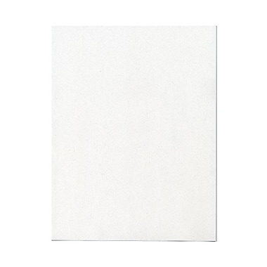 JAM Paper® 8 1/2in. x 11in. Passport Recycled Cardstock, Talc, 50 Sheets/Pack