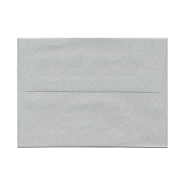 JAM Paper® A7 Invitation Envelopes, 5.25 x 7.25 Granite Grey Recycled, 1000/Pack (71813B)