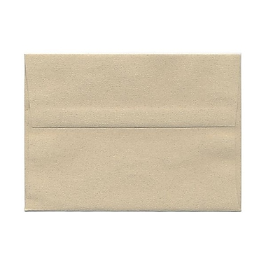 JAM Paper® A7 Invitation Envelopes, 5.25 x 7.25 Sandstone Ivory Recycled, 25/pack (41403)