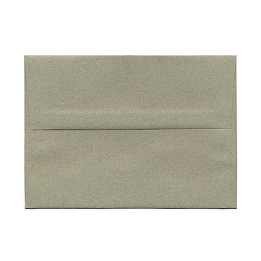 JAM Paper® A7 Invitation Envelopes, 5.25 x 7.25 Sage Green Recycled, 25/pack (49173)