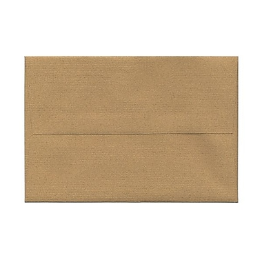 JAM Paper® A8 Invitation Envelopes, 5.5 x 8.125, Ginger Brown Recycled, 100/Pack (49355g)