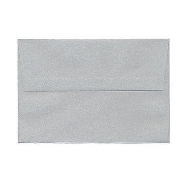 JAM Paper® A8 Invitation Envelopes, 5.5 x 8.125, Granite Grey Recycled, 100/Pack (CPPT755g)