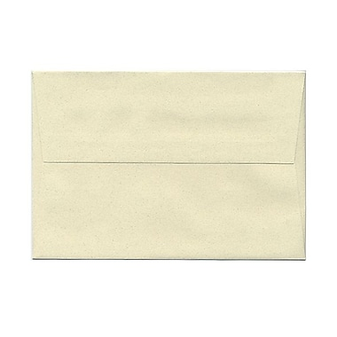 JAM Paper® A8 Invitation Envelopes, 5.5 x 8.125, Gypsum Ivory Recycled, 100/Pack (83785g)