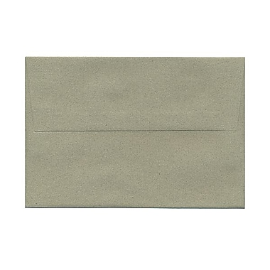 JAM Paper® A8 Invitation Envelopes, 5.5 x 8.125, Sage Green Recycled, 100/Pack (49181g)