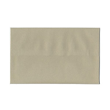 JAM Paper® A10 Invitation Envelopes, 6 x 9.5, Sage Green Recycled, 100/Pack (49008g)