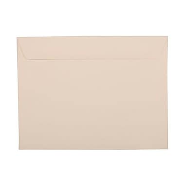 JAM Paper® 9 1/2 x 12 5/8 Booklet Envelopes, Tan Brown, 25/pack (272320493)