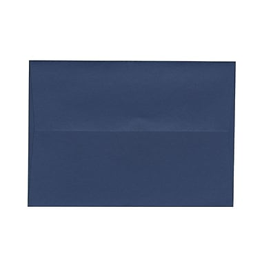 JAM Paper® 4bar A1 Envelopes, 3.63 x 5 1/8, Presidential Blue, 100/Pack (563916904g)