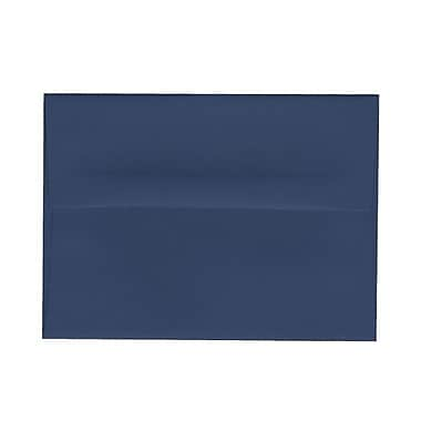 JAM Paper® A6 Invitation Envelopes, 4.75 x 6.5, Presidential Blue, 1000/Pack (563916906B)