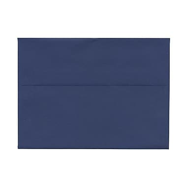 JAM Paper® A7 Invitation Envelopes, 5.25 x 7.25, Presidential Blue, 100/Pack (563913397g)