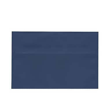 JAM Paper® A9 Invitation Envelopes, 5.75 x 8.75, Presidential Blue, 100/Pack (563916910g)