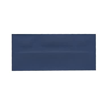 JAM Paper® #10 Business Envelopes, 4 1/8 x 9.5, Presidential Blue, 100/Pack (463916900g)