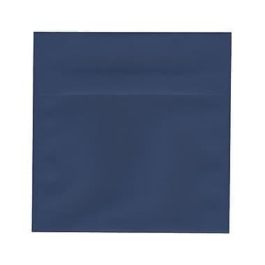 JAM Paper® 8.5 x 8.5 Square Envelopes, Presidential Blue, 100/Pack (563916919g)