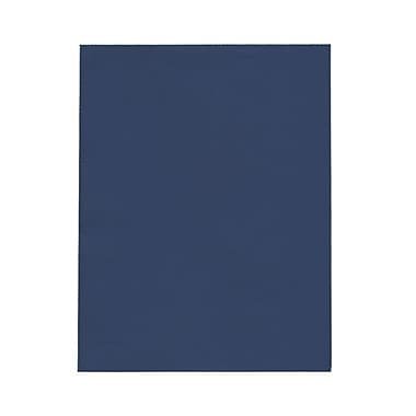 JAM Paper® 8 1/2in. x 11in. 28 lb Presidential Paper, Blue, 500 Sheets/Pack