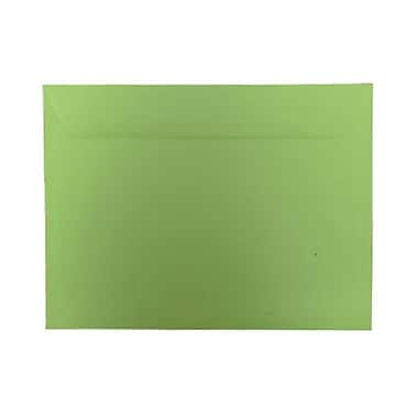 JAM Paper® 9 x 12 Booklet Envelopes, Brite Hue Ultra Lime Green, 1000/Pack (5156771B)