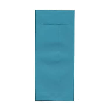 JAM Paper® #10 Policy Envelopes, 4 1/8 x 9.5, Brite Hue Sea Blue Recycled, 100/Pack (15874g)