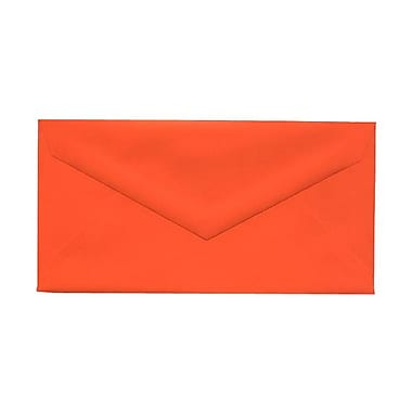 JAM Paper® Monarch Envelopes, 3.88 x 7.5, Brite Hue Orange, 1000/Pack (34097575B)