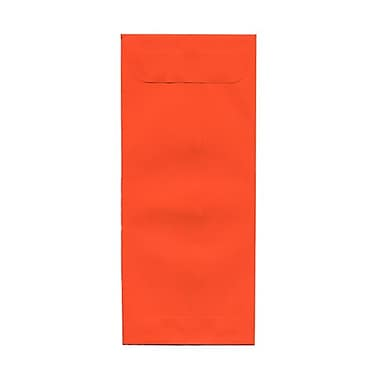 JAM Paper® Plastic Envelopes with Button and String Tie Closure, 13 x 13 square, Charcoal Blue Poly, 12/pack (215887B)