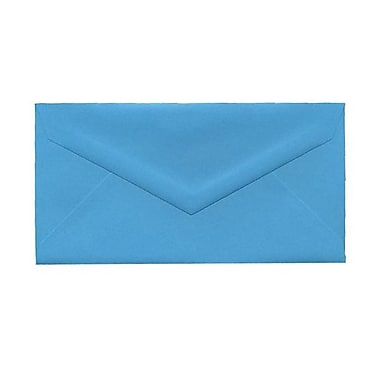 JAM Paper® Monarch Envelopes, 3.88 x 7.5, Brite Hue Blue Recycled, 1000/Pack (34097574B)