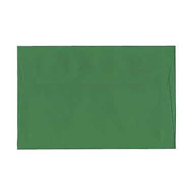 JAM Paper® A9 Invitation Envelopes, 5.75 x 8.75, Brite Hue Green Recycled, 100/Pack (98176g)
