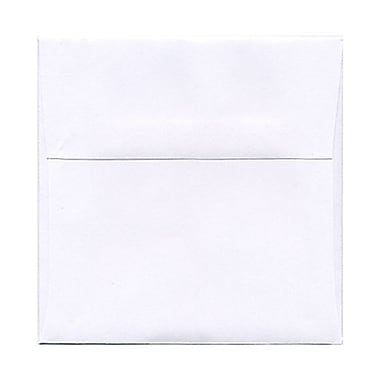JAM Paper® Square Stardream Metallic Envelopes with Gum Closures 6-1/2