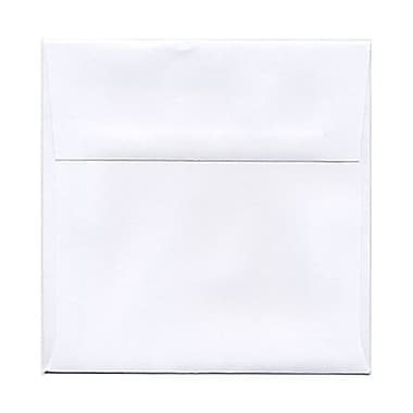JAM Paper® 5.5 x 5.5 Square Envelopes, White, 100/Pack (28415B)