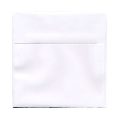 JAM Paper® 6 x 6 Square Envelopes, White, 100/Pack (28416B)