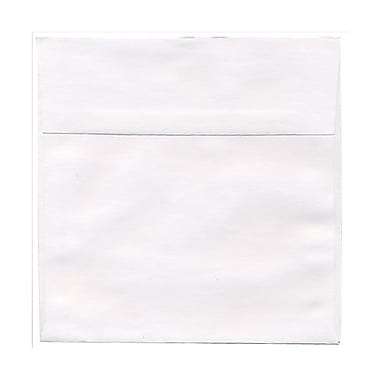 JAM Paper® 7 x 7 Square Envelopes, White, 100/pack (28209B)