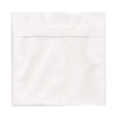 JAM Paper® 7.5 x 7.5 Square Envelopes, White, 1000/carton (28210C)