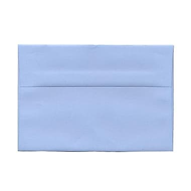 JAM Paper® A9 Invitation Envelopes, 5.75 x 8.75, Baby Blue, 100/Pack (155699g)