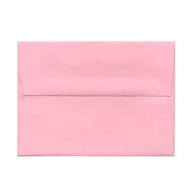 JAM Paper® A6 Invitation Envelopes, 4.75 x 6.5, Baby Pink, 1000/Pack (155625B)