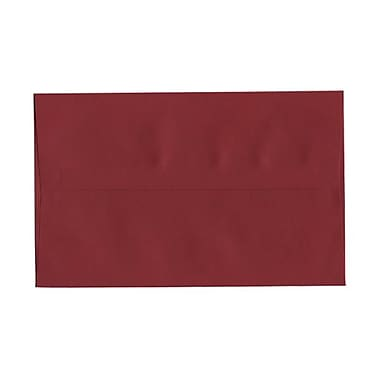 JAM Paper® A10 Invitation Envelopes, 6 x 9.5, Dark Red, 25/pack (157468)
