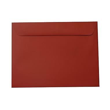 JAM Paper® 9 x 12 Booklet Envelopes, Dark Red, 100/Pack (31511309g)