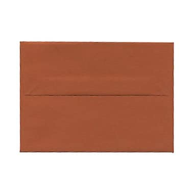 JAM Paper® 4bar A1 Envelopes, 3.63 x 5 1/8, Dark Orange, 1000/Pack (5157436B)