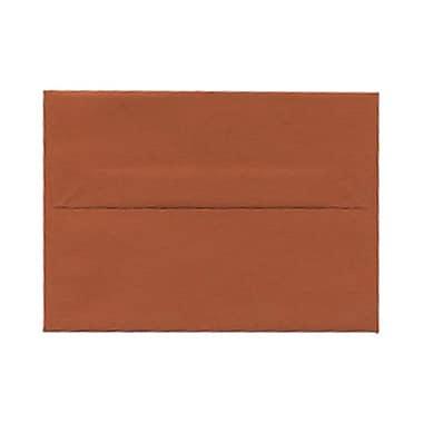 JAM PaperMD – Enveloppes format invitation avec fermeture gommée, 3 5/8 x 5 1/8 po, orange foncé, 1000/paquet