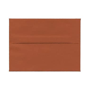 JAM Paper® A2 Invitation Envelopes, 4.38 x 5.75, Dark Orange, 100/Pack (61511358g)