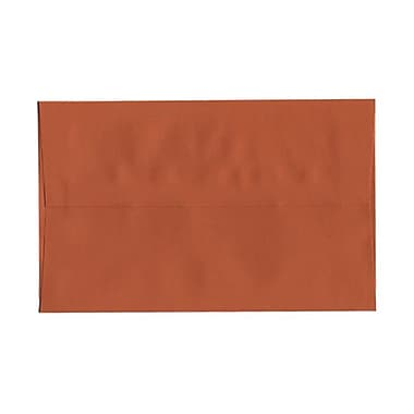 JAM Paper® A10 Invitation Envelopes, 6 x 9.5, Dark Orange, 1000/Pack (157467B)
