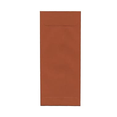 JAM Paper® #10 Policy Envelopes, 4 1/8 x 9.5, Dark Orange, 100/Pack (31511354g)