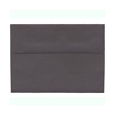 JAM Paper® A7 Invitation Envelopes, 5.25 x 7.25, Dark Grey, 1000/Pack (36396434B)